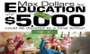 Max Dollars for Education